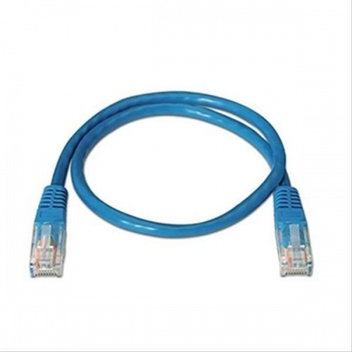 CABLE RED LATIGUILLO RJ45 CAT.6 UTP AWG24,3M AZUL NANOCABLE